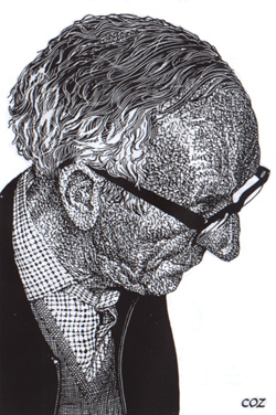 Brian Reilly (drawing by Cozens, circa 1981)