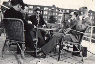 Amsterdam 1954 (left-right) Vincent Maher, Enda Rohan, Jim Walsh, Brian Reilly and Tom Kelly