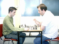 Stephen Jessel (left) and Stephen Brady, Irish Championships, 2006