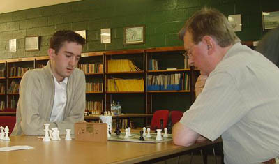 Stephen Jessel (left) and Matt O'Leary, Irish Championships, 2006