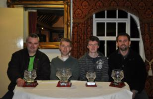 Bunratty Champions 2012 - Jan Heinrich, Mickey Adams, Mark Halley and Ljubisa Cirkovic