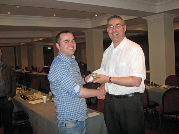 Killian Delaney, grading prize, City of Dublin Masters