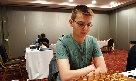 Rudolf Tirziman, at the Irish Championship