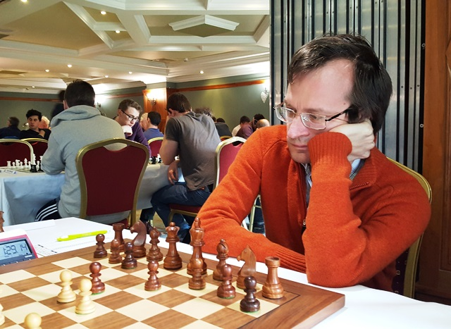 Sergey Tiviakov at the Bunratty Masters