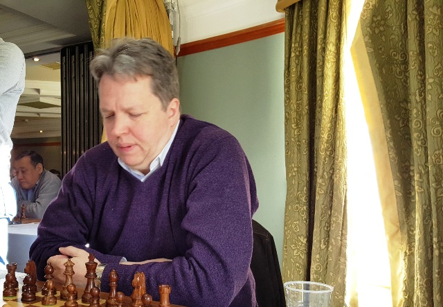Nigel Short at the Bunratty Masters