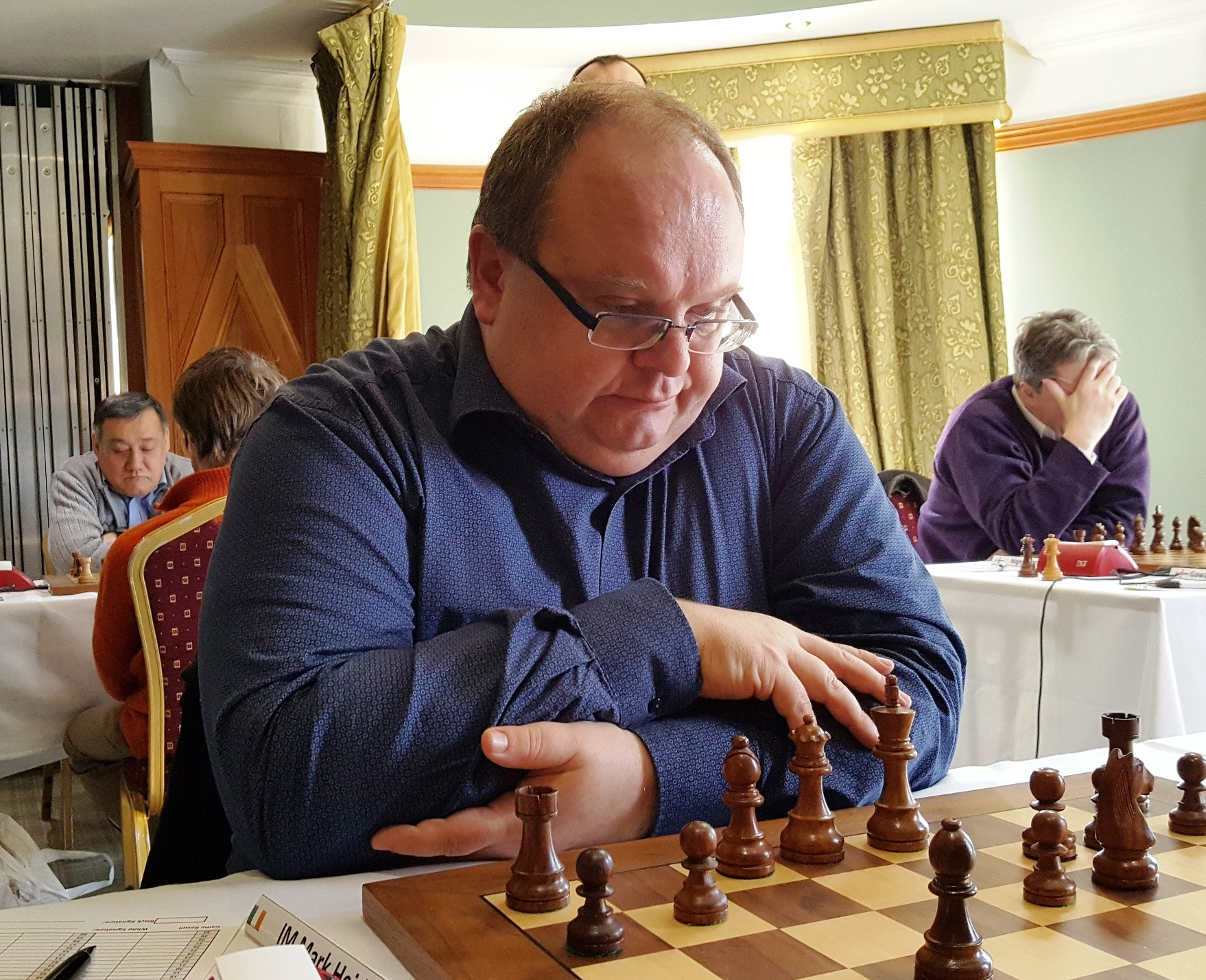 Mark Heidenfeld at the Bunratty Masters