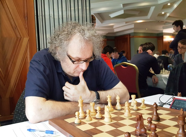 Jon Speelman at the Bunratty Masters