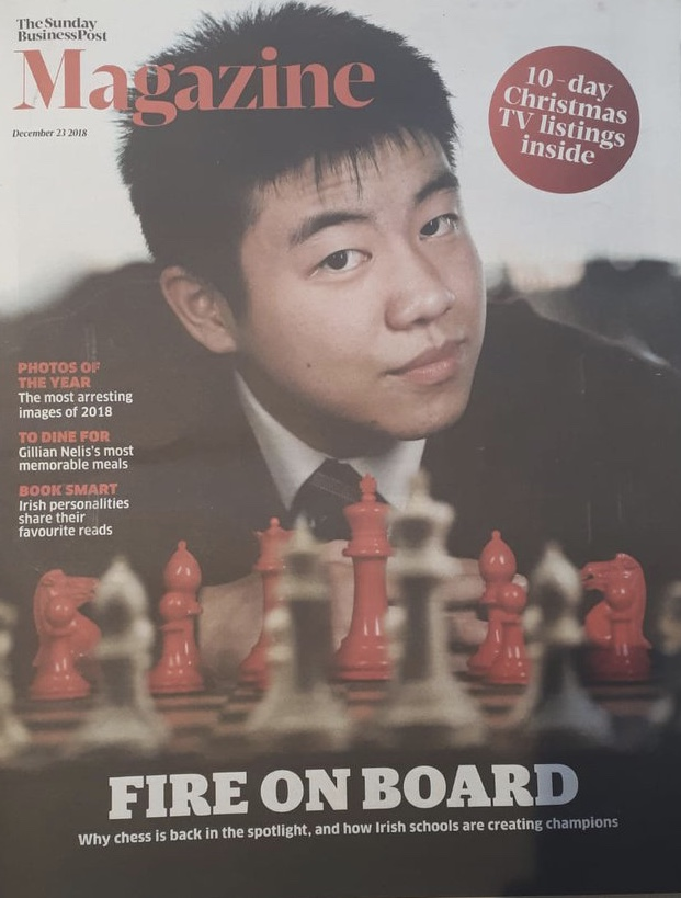 Henry Li in Sunday Business Post