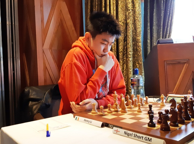 Henry Li, ireland's latest FM at the Bunratty Masters