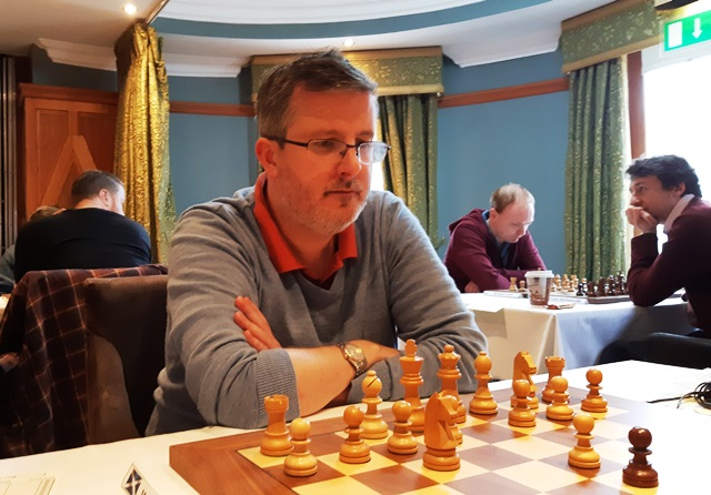 Matthew Turner at the Bunratty Masters