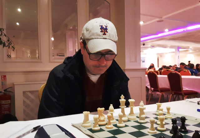 Kevin Grogan, our US visitor at the Bunratty Chess Festival