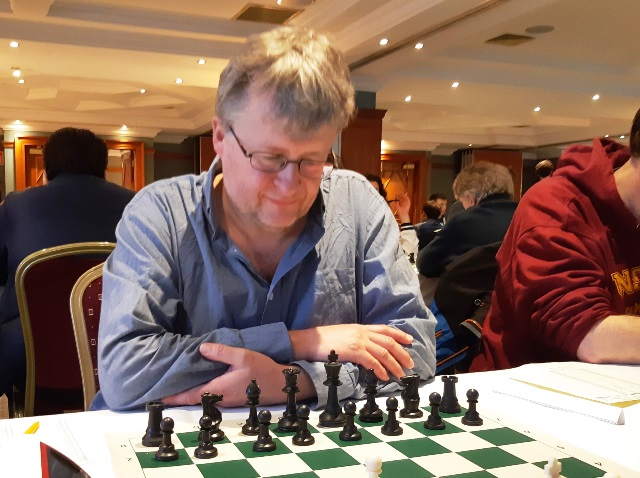Peter Wells at the Bunratty Masters