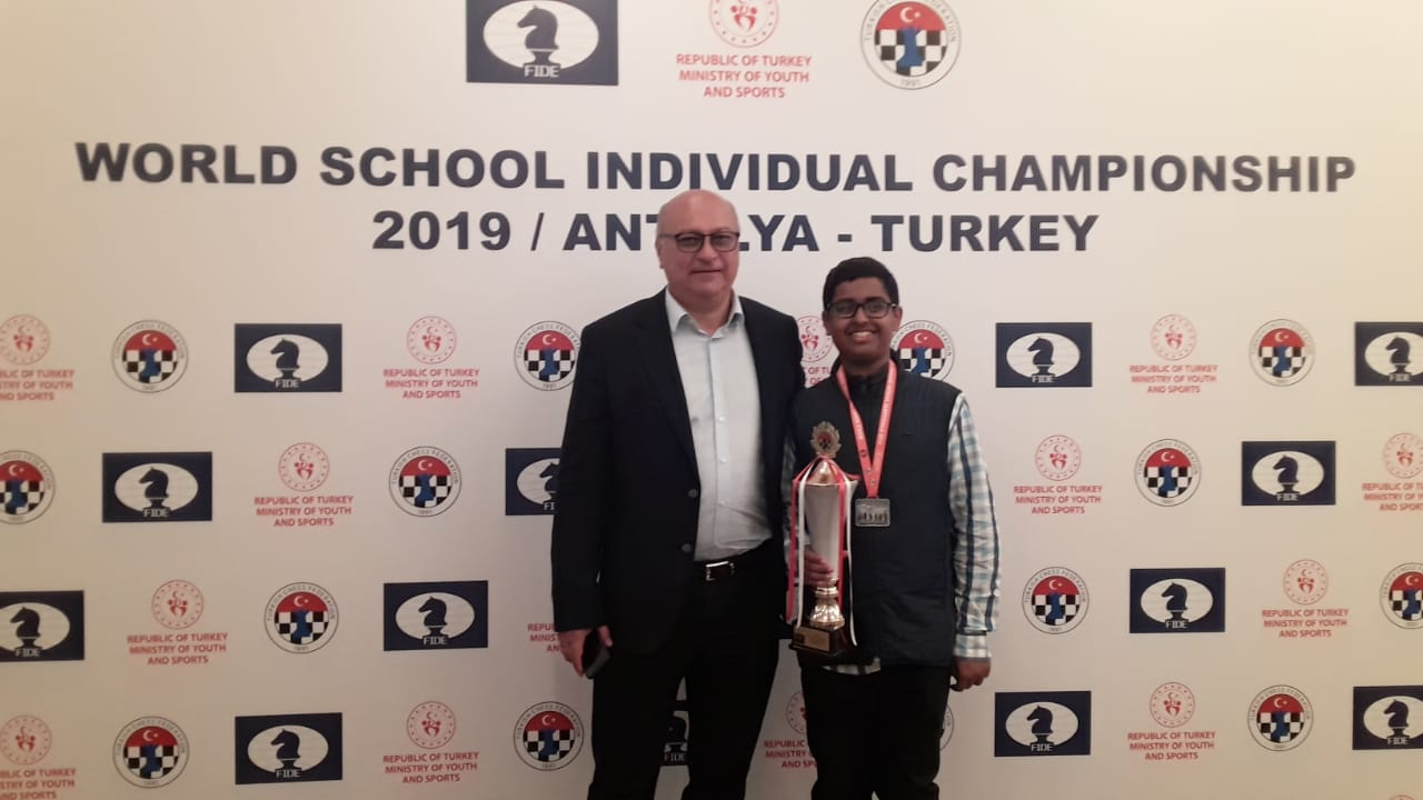 Tarun Kanyamarala Second in World School Championships