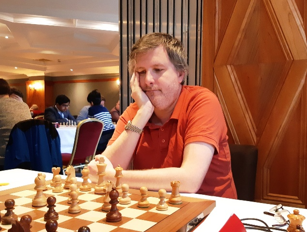 Matthew Turner GM at the Bunratty Masters