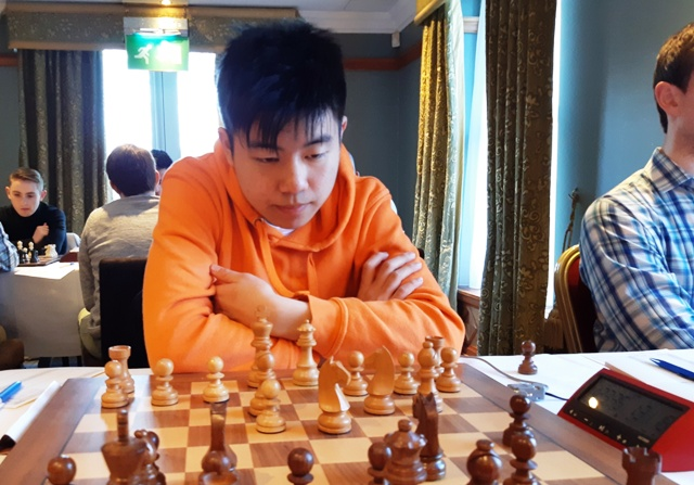 Henry Li at the Bunratty Masters